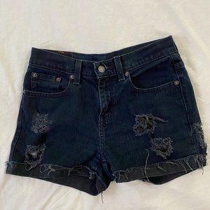 Vintage Black Levi's Shorts